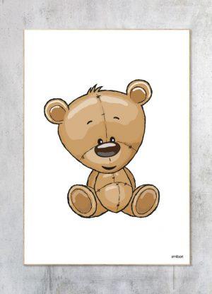 Børneplakat-Bamse