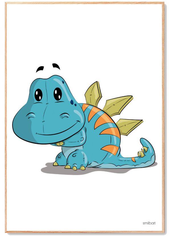 Dinosaur Plakat Børn