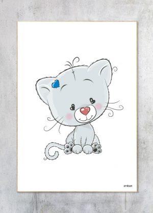 Børneplakat-Hr.Kat