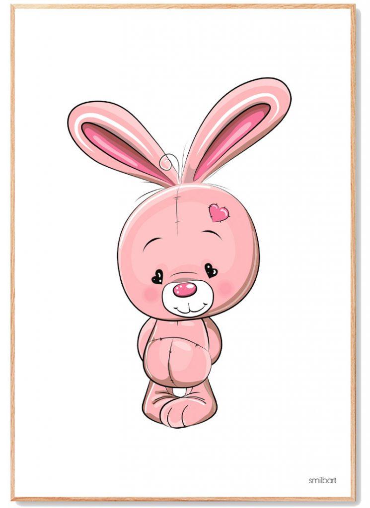 Kanin Plakat Børn
