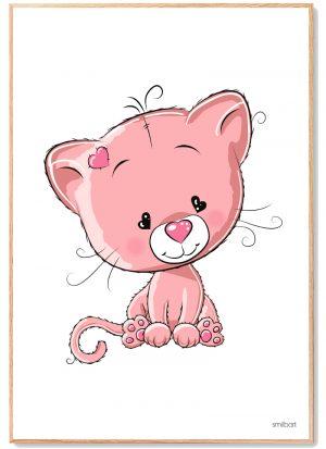 Kat Plakat Børn