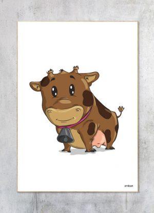 Børneplakat-Ko Plakat