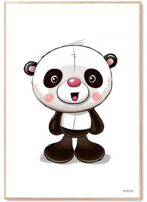 Panda Plakat Børn