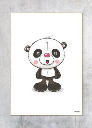Børneplakat-Panda
