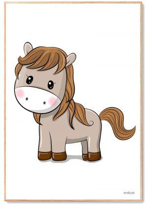 Pony Plakat Børn