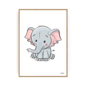 Elefant Plakater Børneplakater