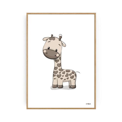 Giraf Plakat Børneplakater