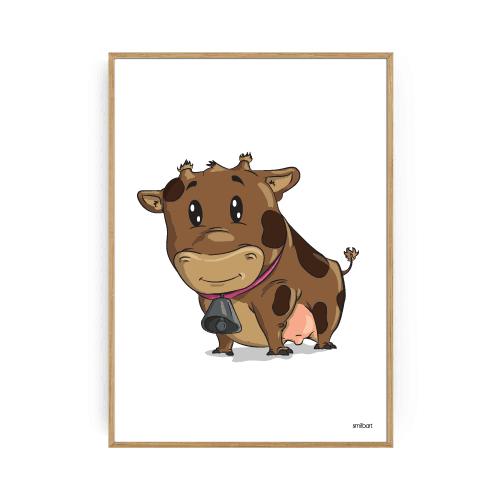 dyreplakat ko plakat