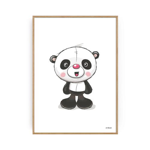 Børneplakater panda plakat