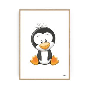Pingvin Plakat Børneplakater