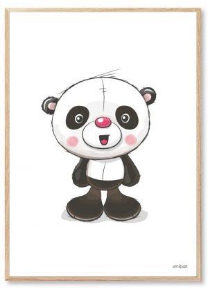 Børneplakater Panda