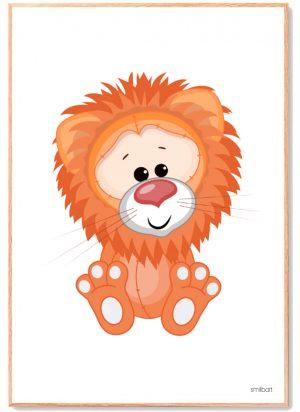 Løve-Plakat-Børn 2