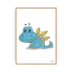 Dinosaur Plakat Børneplakater