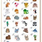 Alfabet Plakat Børn
