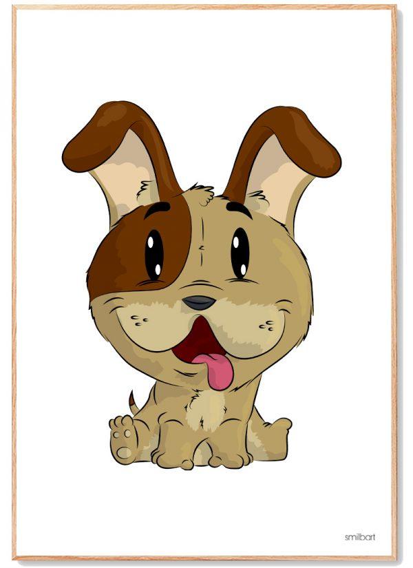 Hund Plakat Børn