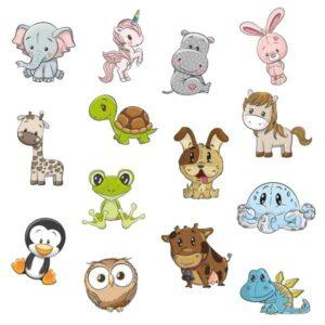 Wallstickers til Børneværelset Dyr