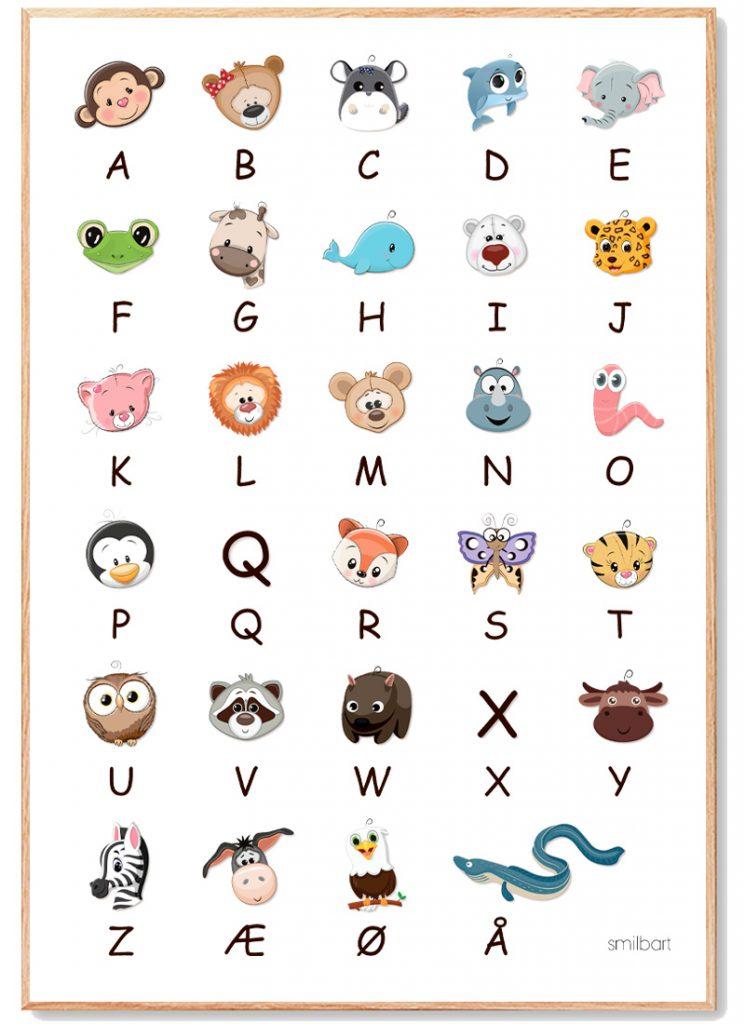 ABC Plakat Børn