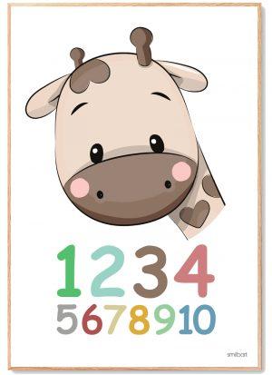 Tal Plakat Børn Læring