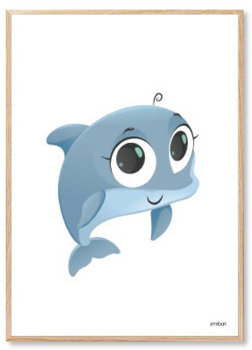 Delfin Børneplakater