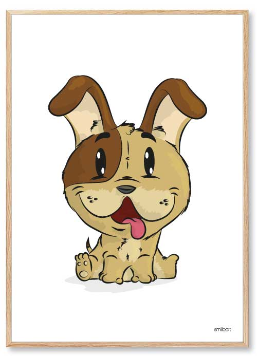Hund Børneplakater