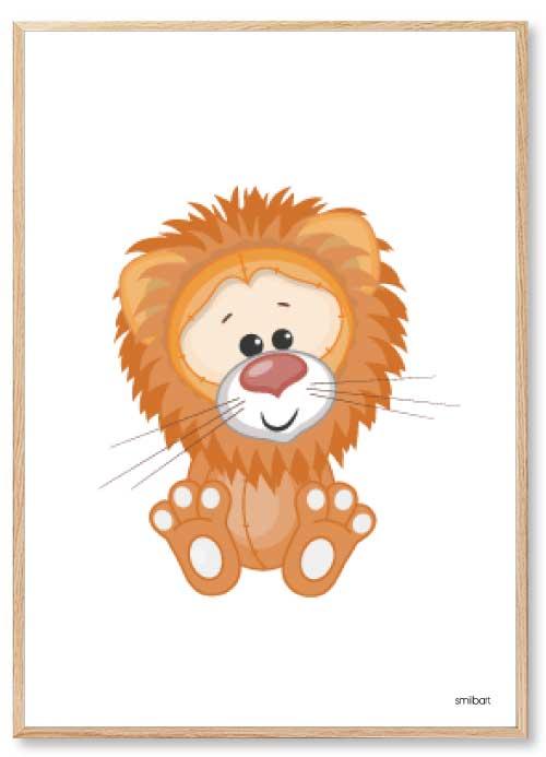 Løve Børneplakater