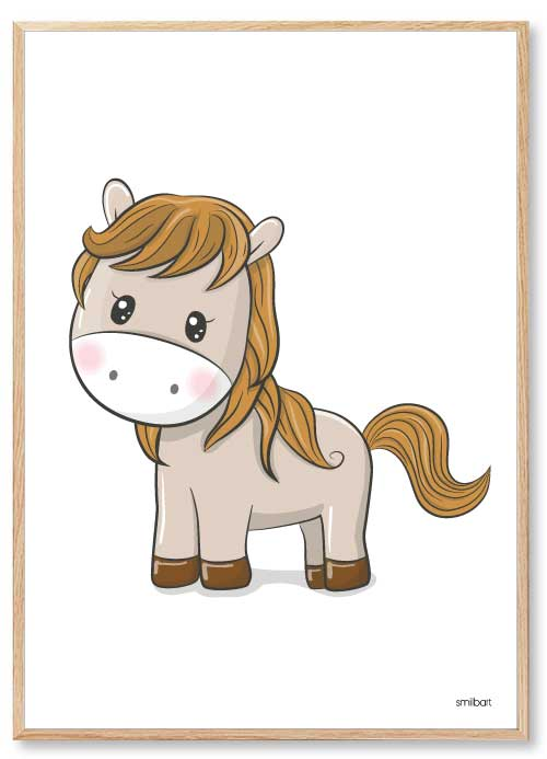 Pony Børneplakater