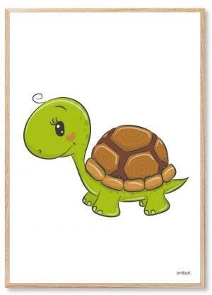 Skildpadde Børneplakater