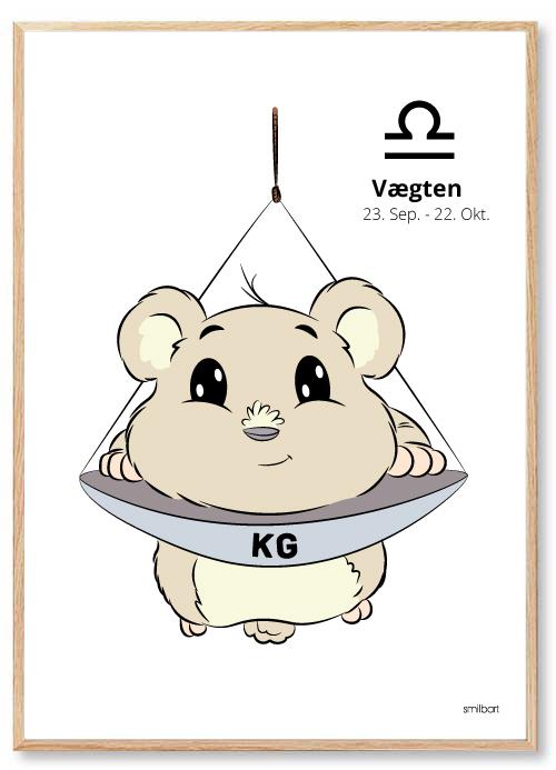 Stjernetegn Vægten Stjernetegn Plakater Til Børn