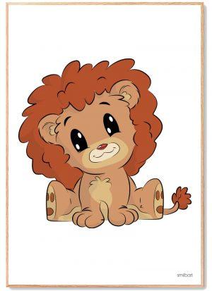 Løve Plakat Børn