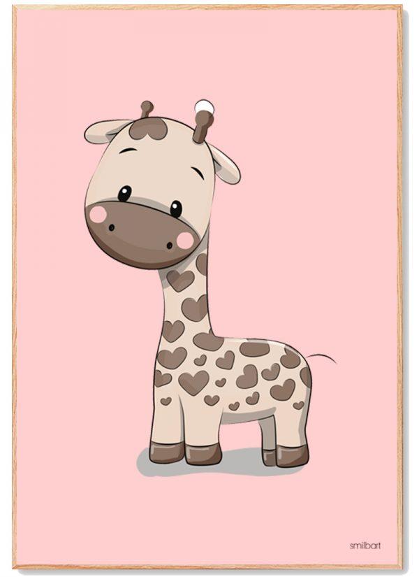 Giraf Plakat Børn