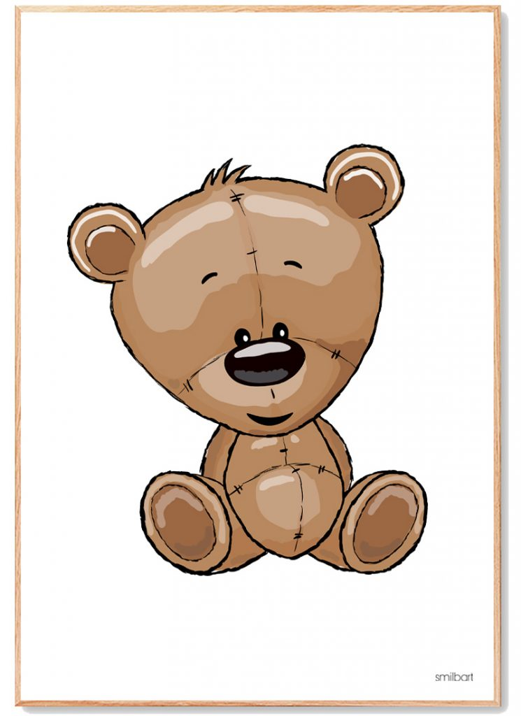 Bamse Plakat Børn