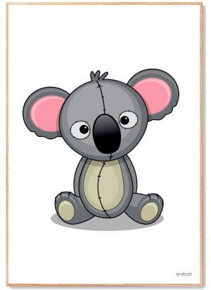 Koala Plakat Børn