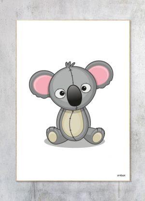 Børneplakat-Koala