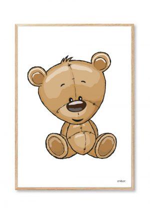 Bjørn Børneplakater Bamse