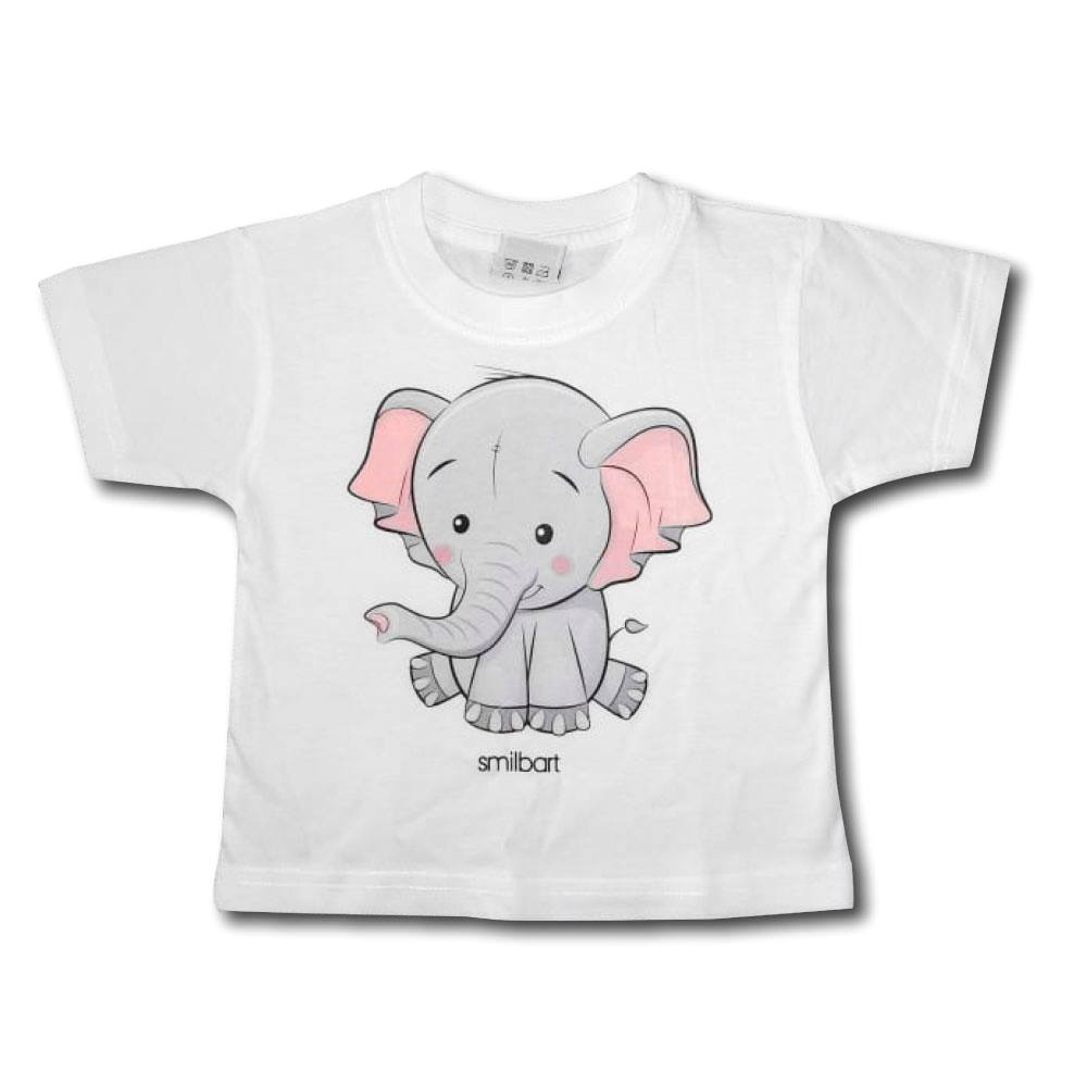 T shirt Elefant Smilbart