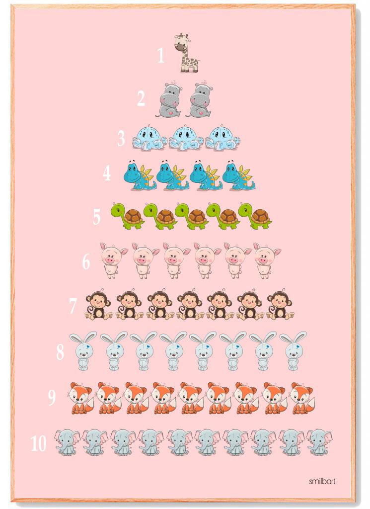 ABC-plakat-lyserød-pige 2