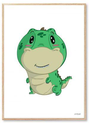 Dinosaur-Plakat-T-Rex