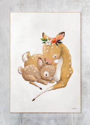 bambi og unge