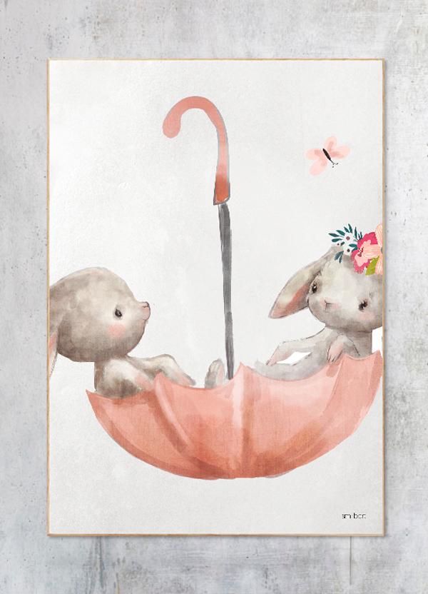 Kaniner-i-paraply