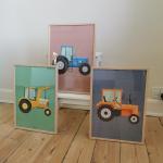 Traktor Plakater Børn