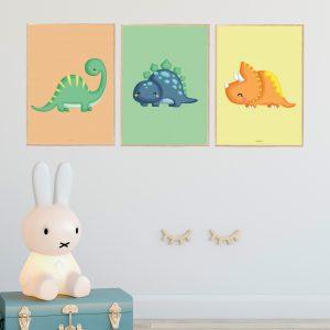 Dino Plakater Børn