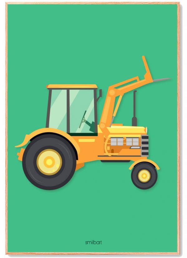 Traktor-Grøn-1