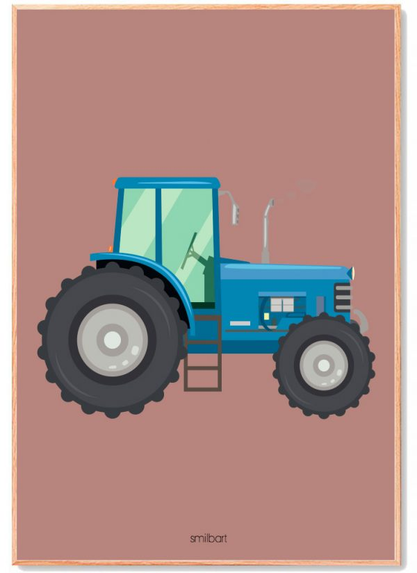 Traktor-brun-1