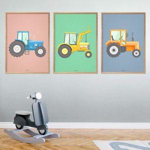 Traktor-plakater