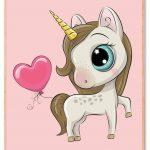 Unicorn-med-balon