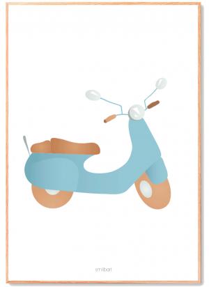 Scooter-Plakat Børn
